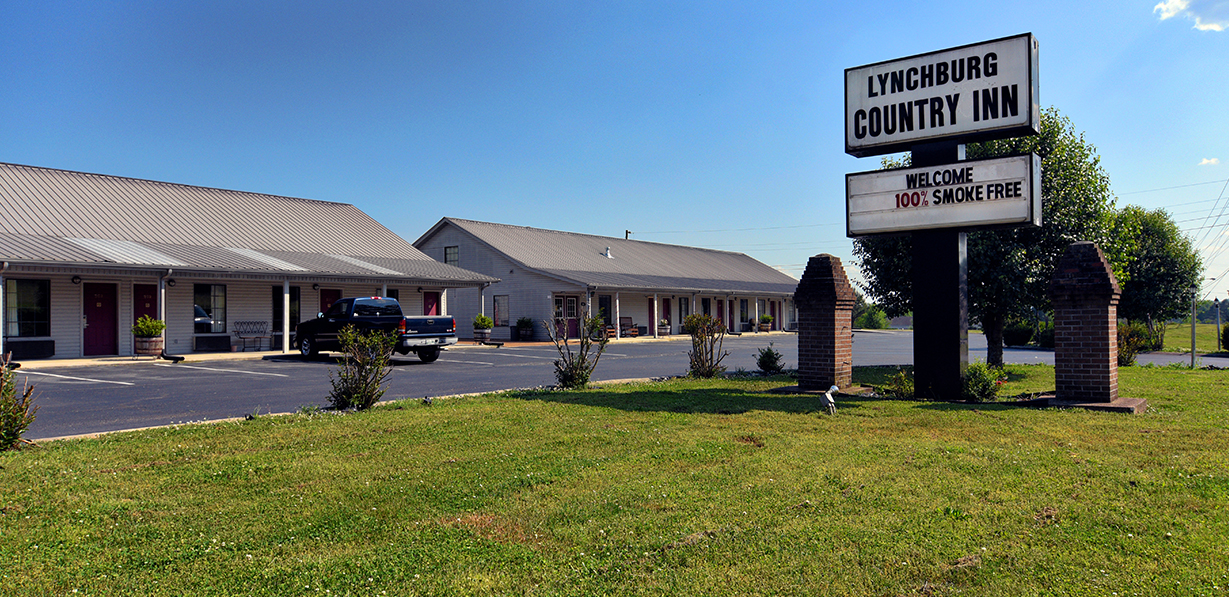 lynchburg country inn motels hotels lodging near jack